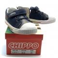 912379-1 Детски Кожени Обувки Blue №25-30