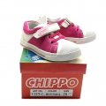 912379-2 Children Leather shoes White/Fushia №21-25