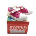912379-2 Детски Кожени Обувки White/Fushia №25-30