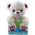 010560-1 GLOWCRAZY BEAR Pink Paw - Image 1