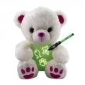 010560-1 GLOWCRAZY BEAR Pink Paw