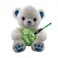 010560-2 GLOWCRAZY BEAR Blue Paw
